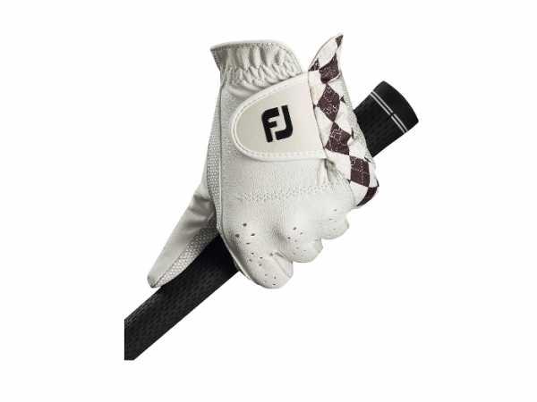 Footjoy Attitudes Damenhandschuh weiß/schwarz