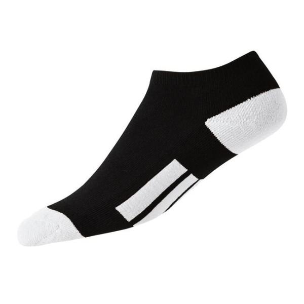 Footjoy ProDry Low Cut Socken Junior schwarz-weiß
