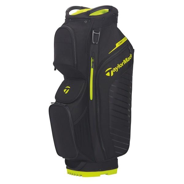 TaylorMade Cartbag Lite schwarz/gelb