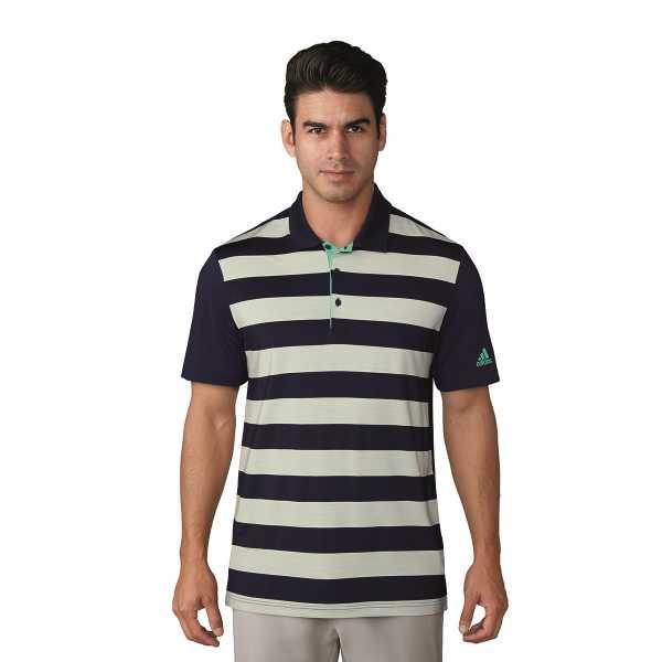 adidas ULTIMATE365 Rugby Block Polo Herren navy/grün