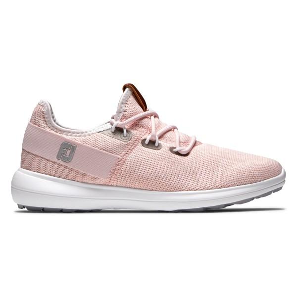 Footjoy Flex COASTAL SL Golfschuh Damen pink/weiß