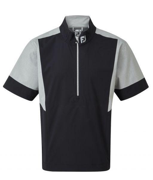 Footjoy HLv2 Short Sleeve Regenjacke Herren schwarz/grau