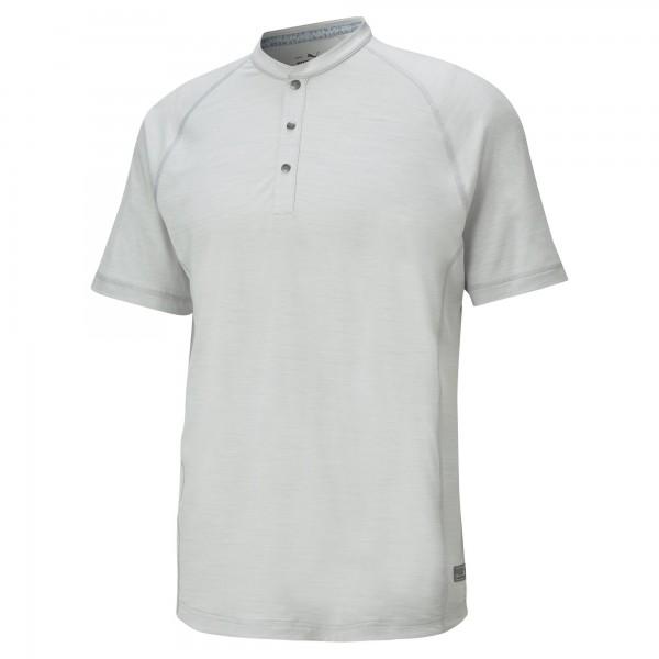 Puma EXCELLENT Golf Wear Cloudspun Mat Henley Polo Herren