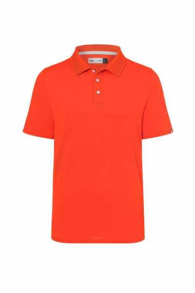 KJUS Luan Polo S/S Herren orange