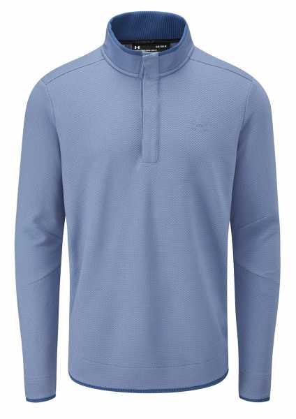 Under Armour Sweaterfleece Snap Mock Pullover Herren blau