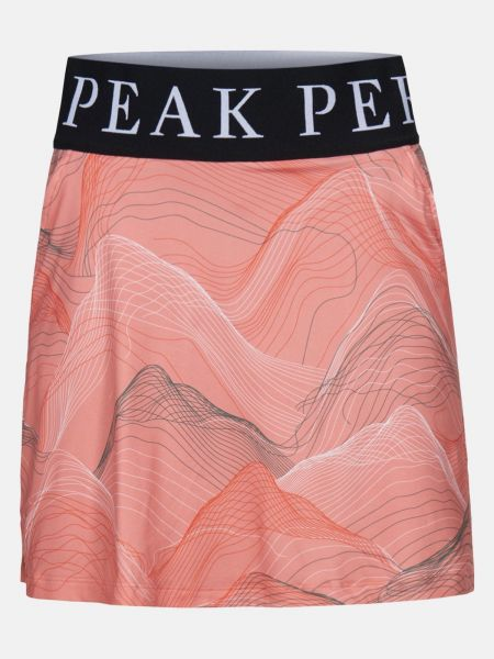 Peak Performance TURF Printed Skort Damen lachs