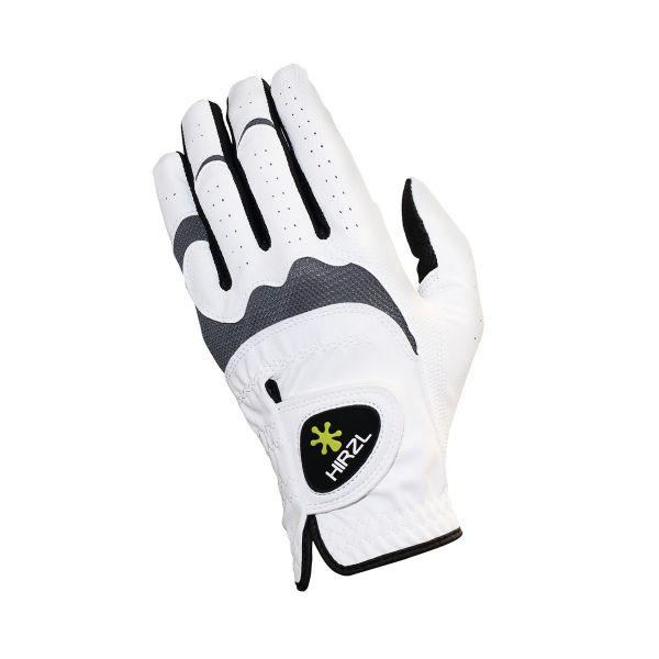 HIRZL HYBRID Damenhandschuh weiß/schwarz