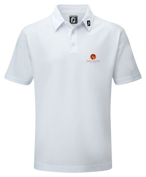 Footjoy Performance Poloshirt athleticfit Herren mit Golf Valley-Logo