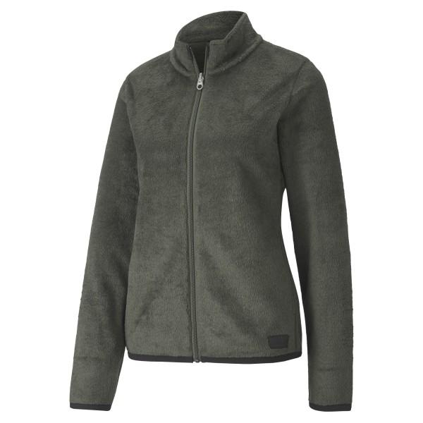 Puma Sherpa Fleece Pullover Damen olive