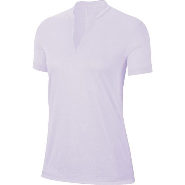 Nike Breathe Golf Polo Damen lila