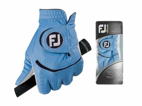 Footjoy Spectrum Damenhandschuh weiß/hellblau