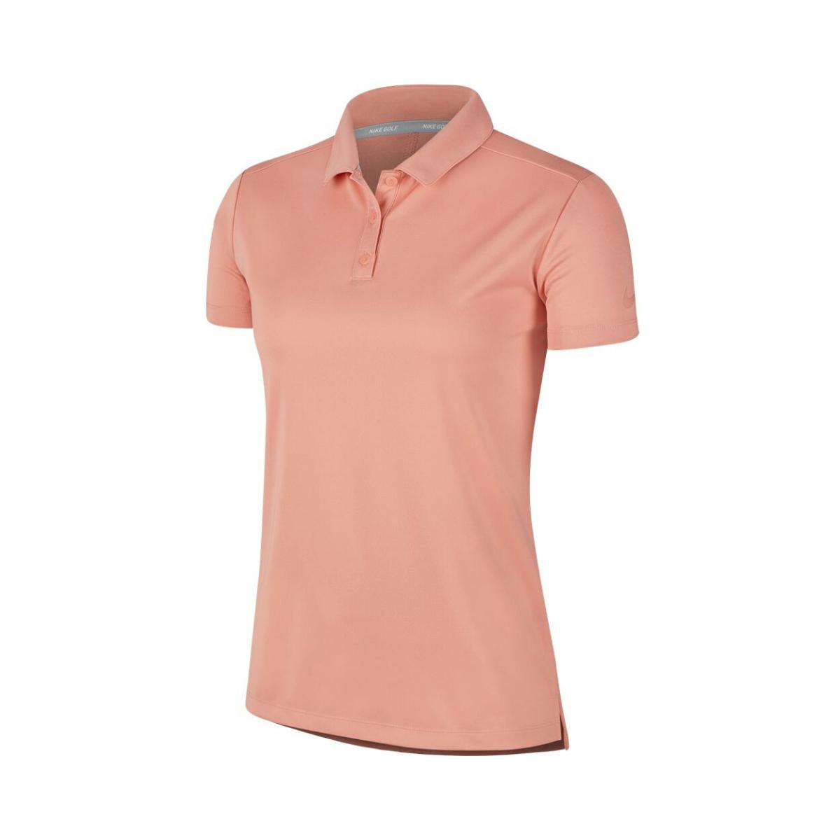 Nike Dry Golf Polo Damen pink