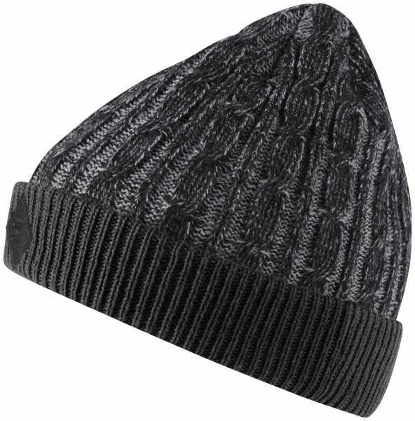adidas Knit Cable Mütze Damen schwarz