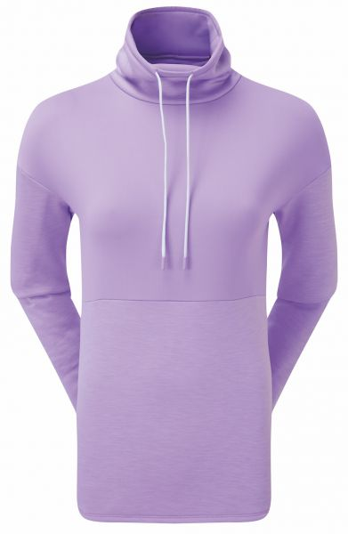 Footjoy Funnel Collar Fleece Pullover Damen orchid