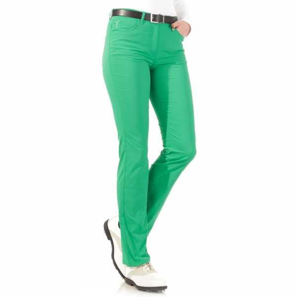 Golfino Damen Techno-Stretch-Hose grün