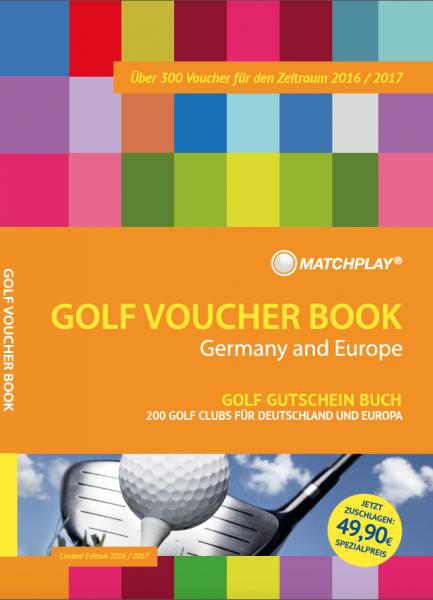 GOLF VOUCHER BOOK Gutscheinbuch 2016+2017