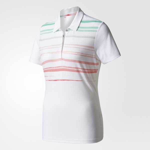 Adidas Traditional Merch Poloshirt Damen weiß