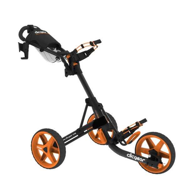 ClicGear Trolley 3.5+ charcoal/orange