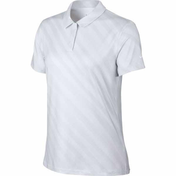 Nike Dri-FIT UV Polo Damen weiß