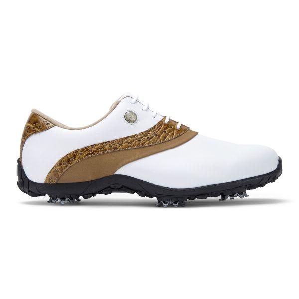 Footjoy ARC LP Golfschuh Damen weiß/hellbraun