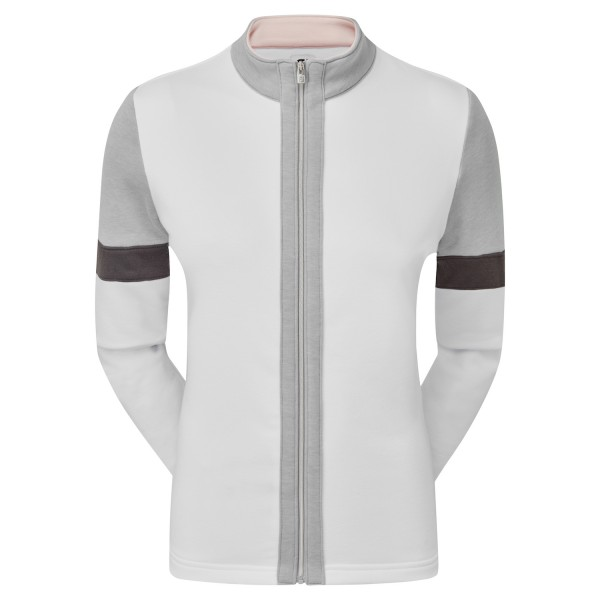 Footjoy Full-Zip Blocked Mid-Layer Pullover Damen