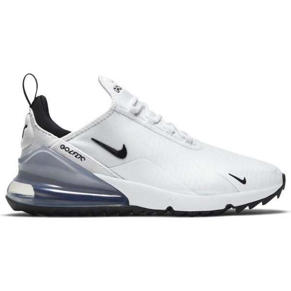 Nike Air Max 270 G Golfschuh weiß/schwarz/grau