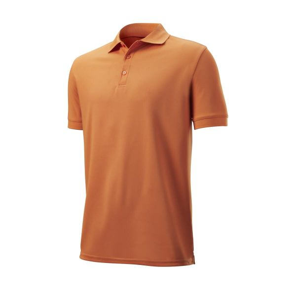 Wilson Staff Authentic Polo Herren orange