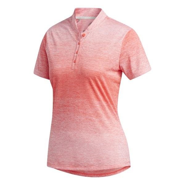 adidas Gradient Short Sleeve Polo Damen rot