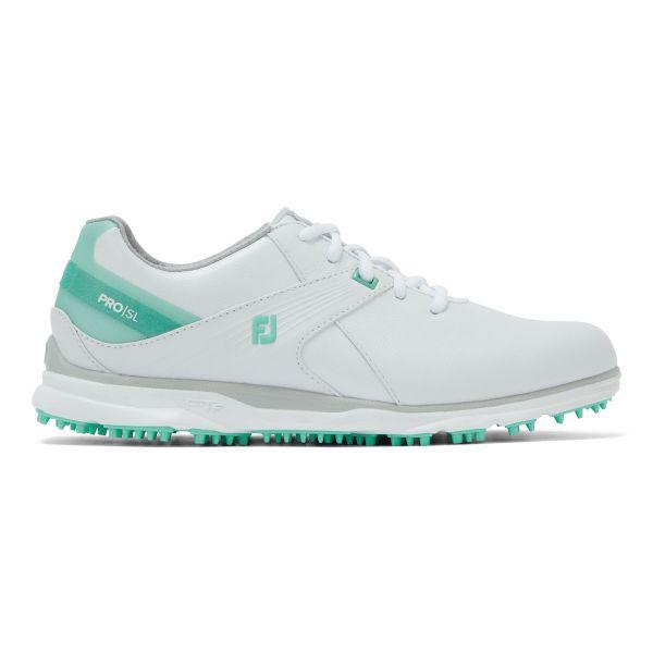 Footjoy PRO SL Golfschuh Damen weiß/mint