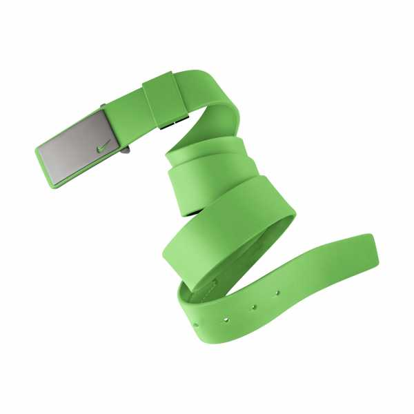 Nike Sleek Plaque One Size Gürtel grün