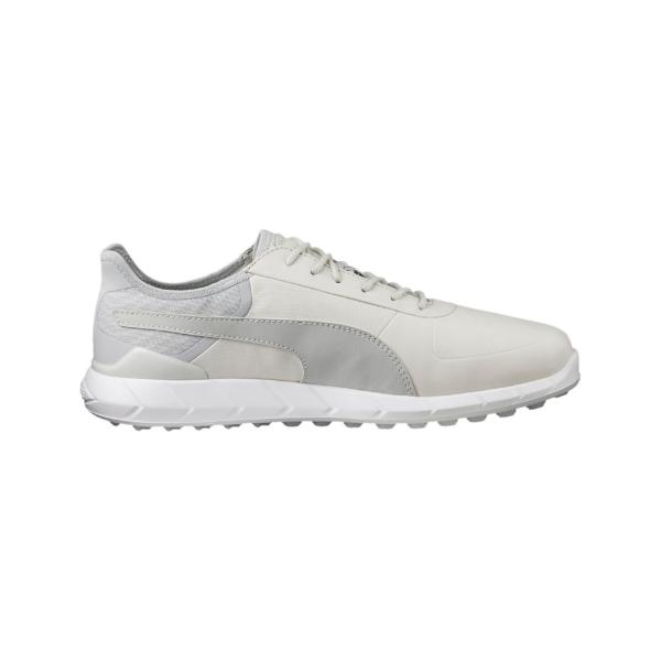 Puma IGNITE Spikeless LUX Schuh Herren grau/weiß