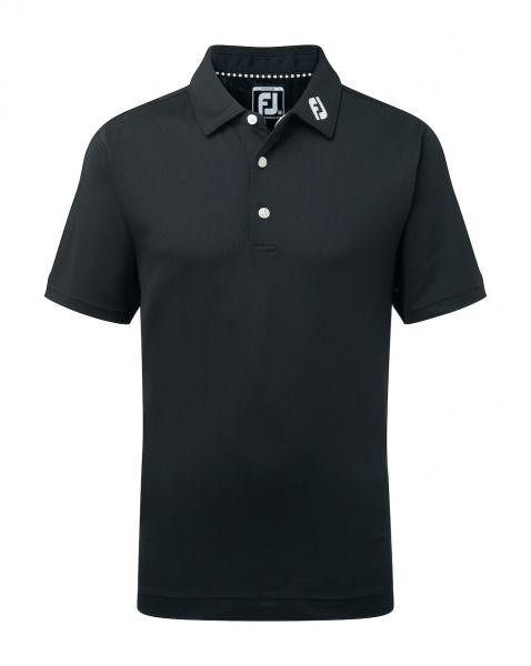 Footjoy Stretch Pique Solid Polo Junior