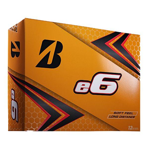 Bridgestone e6 Golfbälle 12Stk.