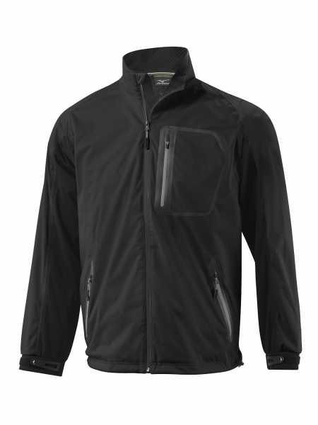 Mizuno Flex Rain Jacket Herren schwarz