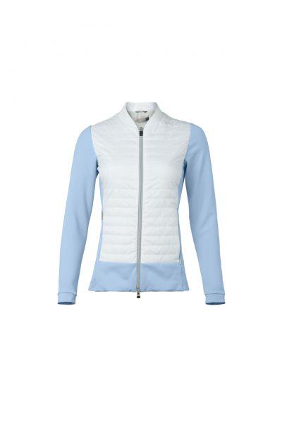 KJUS Retention Jacke Damen weiß/blau