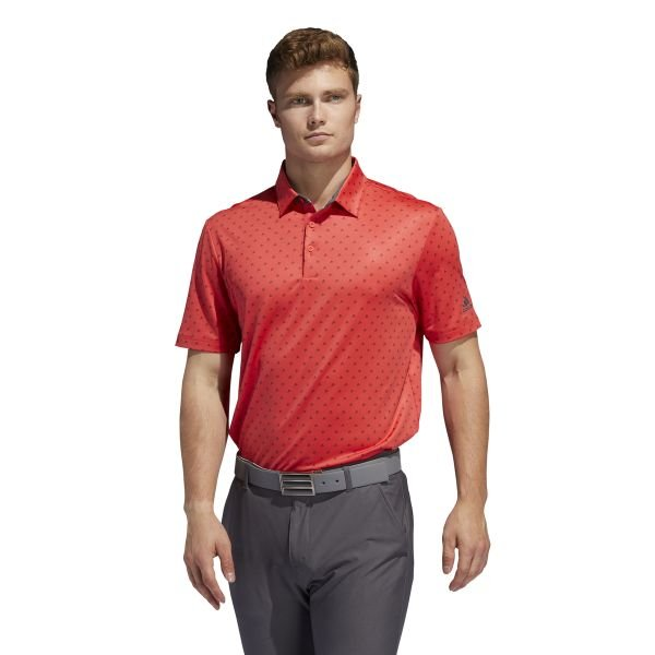 adidas Ultimate BOS Polo Herren rot