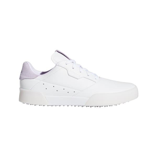adidas Adicross Retro Golfschuh Kinder weiß/lila