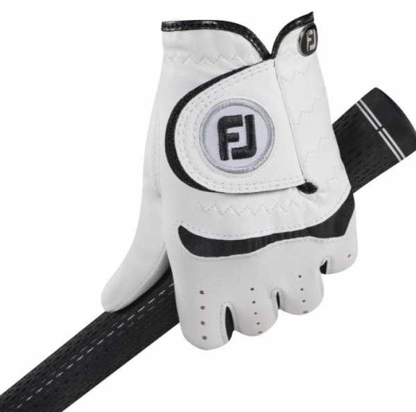Footjoy Junior Handschuh weiß/schwarz