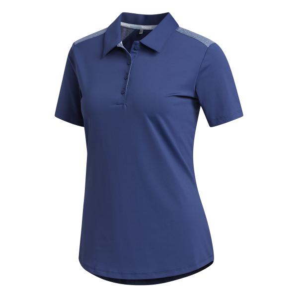 adidas Ultimate365 Shorts Sleeve Polo Damen navy