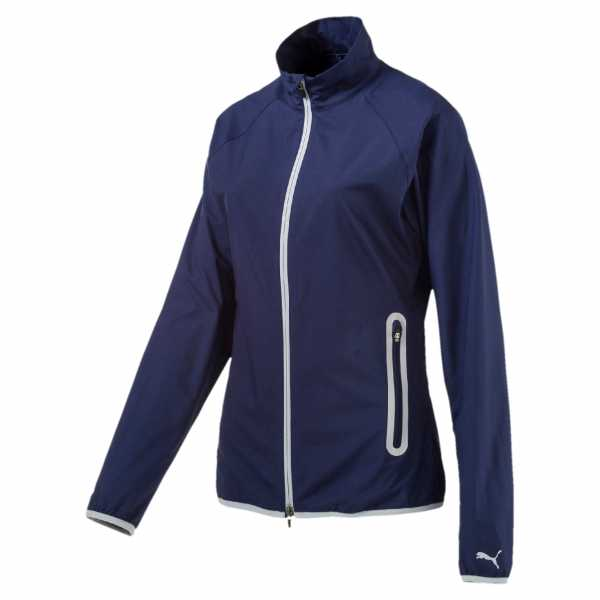 Puma Full Zip Wind Jacke Damen navy