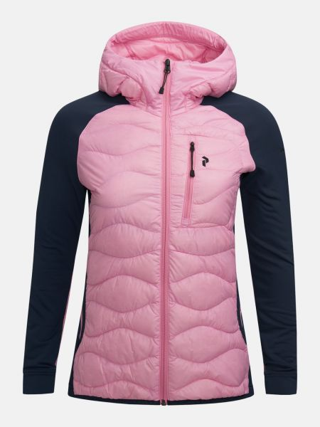 Peak Performance HELIUM Hybrid Jacke Damen pink/navy
