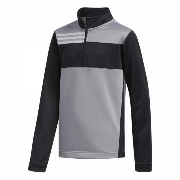 Adidas Halfzip Layer Jungen grau