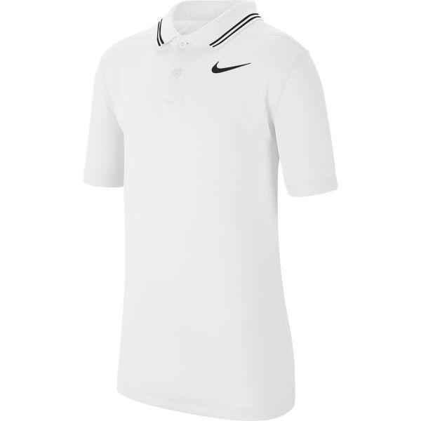 Nike Dri-Fit Victory Polo Jungen weiß