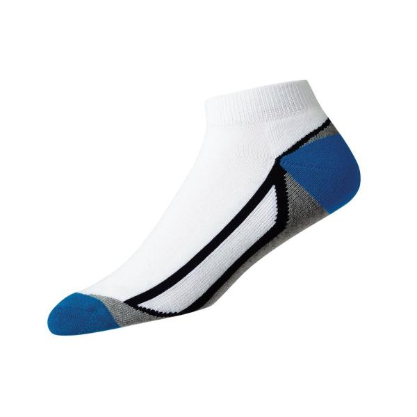 Footjoy ProDry Sport Fashion Socken Herren weiß-grau-dunkelblau