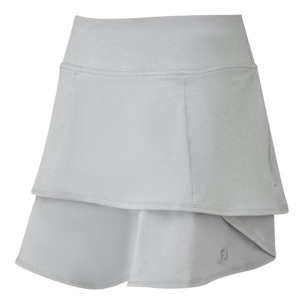 Footjoy Lightweight Jersey Knit Layered Skort Damen grau