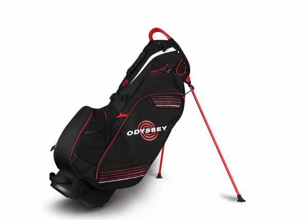 Callaway Odyssey Hyper Lite 3 Standbag schwarz/rot