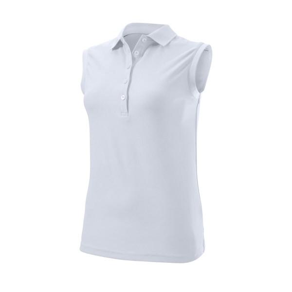 Wilson Staff Authentic Sleeveless Polo Damen weiß