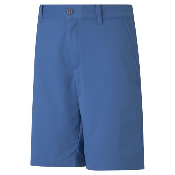 Puma Stretch Shorts Kinder blau