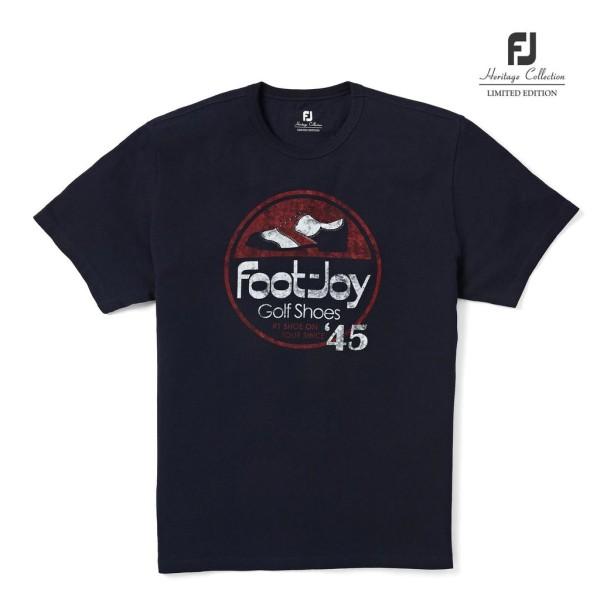 Footjoy Heritage T-Shirt Herren navy