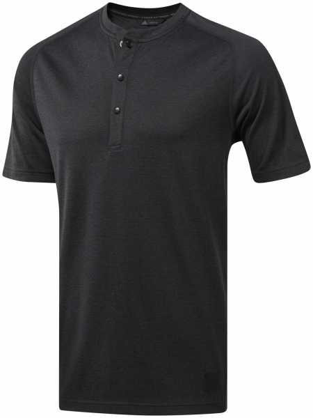 adidas Adicross No-show Transition Henley Shirt Herren schwarz